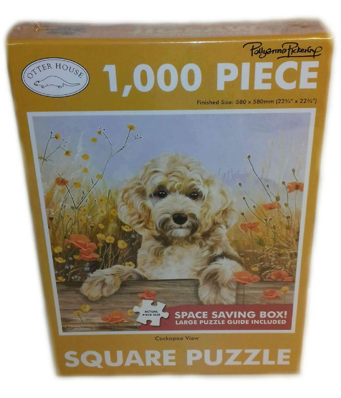 Cockapoo Square 1000 Piece Jigsaw